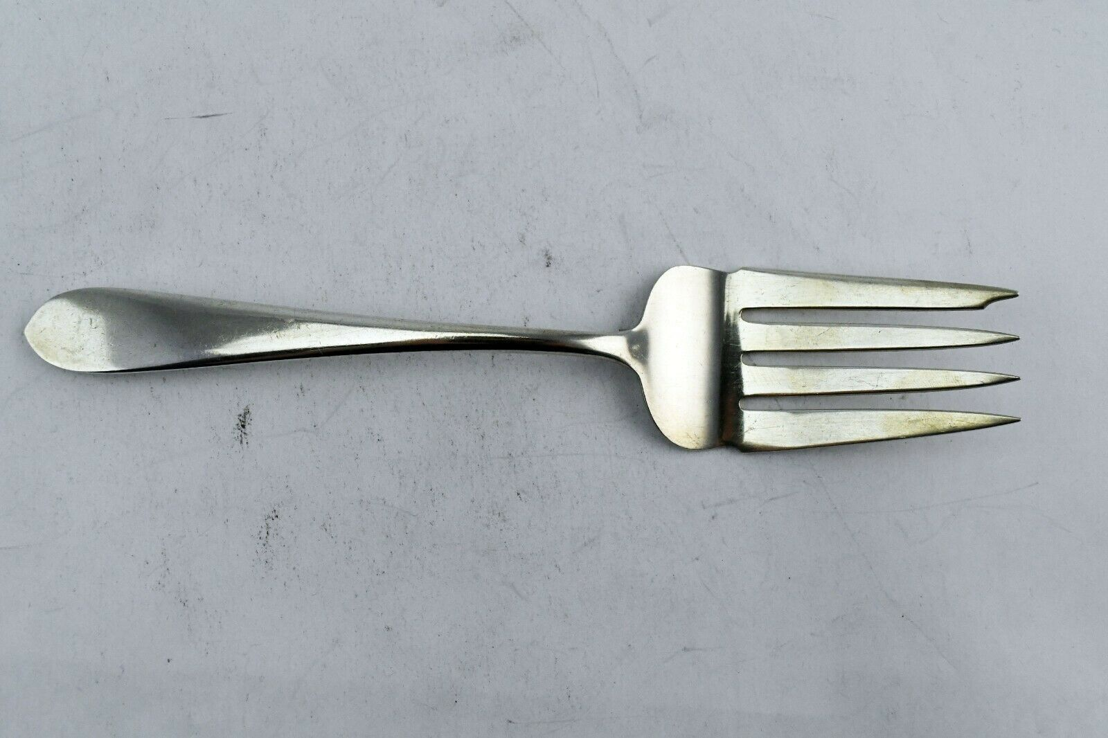 "Wadefield by S.Kirk & Sons Sterling 8 3/8"" Medium Cold Meat Serving Fork 2.6 oz - $77.21"