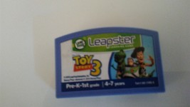 LEAP FROG LEAPSTER LEARNING SYSTEM TOY STORY 3 GAME - $4.95