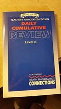 Count on Us Teacher's Annotated Edition Daily Cumulative Review Level 8,... - $29.99