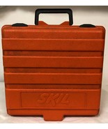 "EMPTY ORANGE SKIL TOOL CASE - EMPTY TOOL CASE ONLY - 11.5"" X 12"" X 4"" - $9.99"