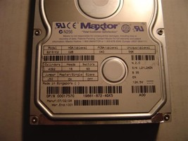 MAXTOR 82161E2 2.1GB 3.5 inch IDE Drive Tested Good Free USA Shipping