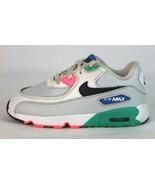 Nike Air Max Juventud Infantil Zapatillas Cuero Multicolor Cordones Tall... - $20.65