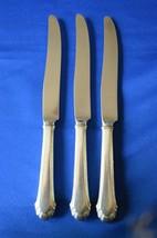 3 Gorham Silver Plate Cavalier 1937 Dinner Knives - $14.85