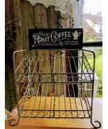 Chicken Wire K-Cup Holder Caddy Coffee Pod Storage Basket - $38.00