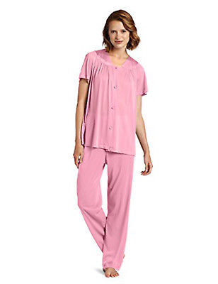 Vanity Fair Women's Plus Size Coloratura Sleepwear Pajama Set 90807