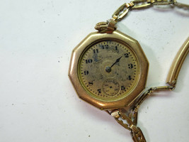 ELGIN GOLD FILLED ANTIQUE VINTAGE WATCH FOR RESTORATION REPAIR OR TRENCH... - $120.94