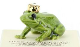 Birthstone Frog Prince April Simulated Diamond Miniatures by Hagen-Renaker image 7