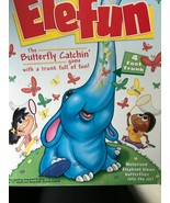 "Elefun ""The Butterfly Catching Game"" Complete Motorized Elephant 4 Foot ... - $43.37"
