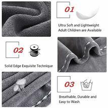Hair Towel Wrap Turban Microfiber Hair Drying Towels, Quick Magic Hair Dry Hat C image 3