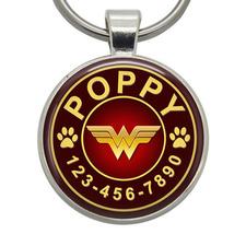 Pet ID Tag - Wonder Woman (Marvel) - Dog ID Tag, Cat ID Tags, Pet Tags, ... - $19.99