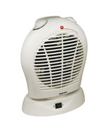 Oscillating Fan Heater with Thermostat White - $53.36