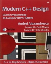 Modern C++ Design: Generic Programming and Design Patterns Applied [Pape... - $36.98