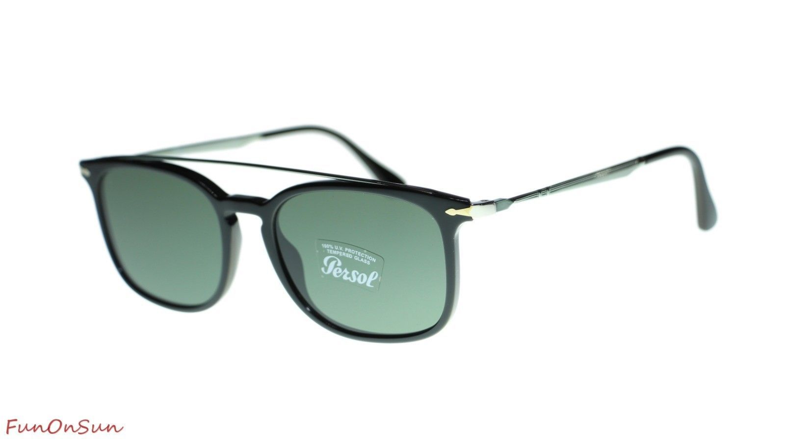 fd67148e56 Persol Mens Rectangle Sunglasses PO3173S and 50 similar items. 10