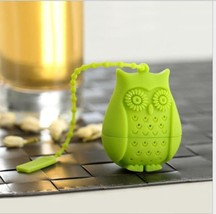 Tea Infuser Owl Tea Bags Silicone Reusable Strainer Coffee Herb Filter D... - £2.24 GBP