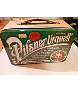 """Pilsner Urquell Tin Box Lunchbox Large Size 7""""x10""""x5"""" New with Tags Empty  - $24.70"""