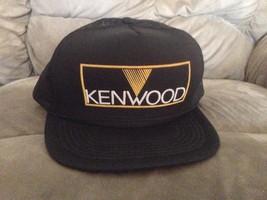 Vintage Kenwood Electronics Snapback Mesh Trucker Stereo Receiver Baseba... - $24.75