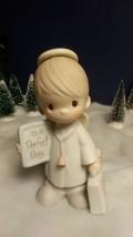 Precious Moments 1983 Porcelain Standing Figurine # E-0512. It's A Perfect Boy. - $9.80