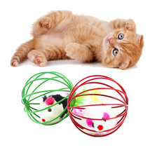 17 popular new cat toy mouse ball lovely kitten gift funny play toys mouse ball best 37 thumb200