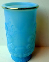 Avon Bristol Blue Bathroom Tumbler - $14.36