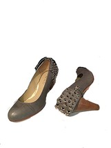 Women's Working Leather Shoes with Straps - $19.79