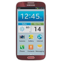 Samsung Galaxy S4 SGH-i337 4G Cell Phone, 16GB, Red, AT&T - $59.95