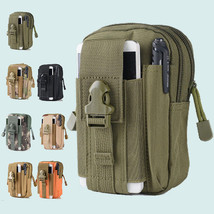 Military Tactical Molle Pouch Camouflage Belt Waist Packs Pocket Bags Fa... - $9.49