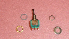New 1PC Eaton M83731/10-331 Toggle Switches Dpdt ON-ON-MOM Mil Spec Switch 6-PIN - $40.00