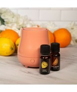 USB Diffuser With 2 Essential Oils Lemon And Sweet Orange - $19.79