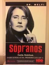 DR MELFI SOPRANOS HBO Original NJ Transit Window Card Poster RARE! 21 x 33 - $99.00
