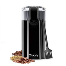 Sboly Coffee Grinder with Cleaning Brush, 2oz Coffee Bean Grinder also f... - $49.46