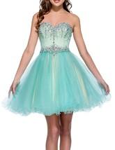 2019 Sexy Manual Beaded Strapless Homecoming Dress Empire Waist Short Pa... - $114.99