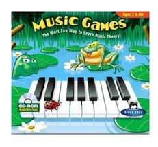 Music Games (Jewel Case) [CD-ROM] Windows NT / Windows 98 / Windows 2000... - $22.76