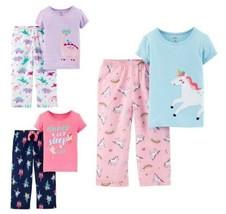 NWT Carters Unicorn Dinosaur Ballerina Short Sleeve Pajamas Set 2T 3T 4T 5T - $9.99