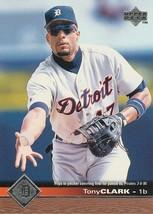 1997 Upper Deck #62 Tony Clark - $0.50