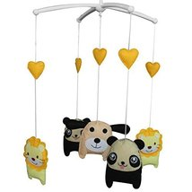 Cute Animals Hanging Bell Mobile Baby Bed Musical Crib Mobile - £36.40 GBP
