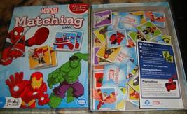 Marvel Matching  Game for Kids-Wonderforge-Complete - $13.00