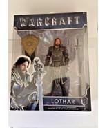 """Jakks Pacific Warcraft 6"""" Lothar Sword Shield 2016 - $7.91"""