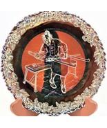 Fenton Carnival Glass Commemorative No. 1 Plate Annual Series of Collect... - $18.80
