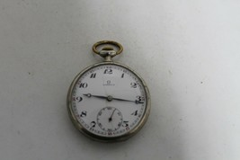 Rare Antique Vintage Old Swiss Made Omega Open Face Pocket Watch. - $204.04