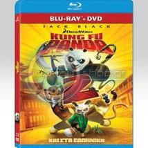 Kung Fu Panda 2 (Blu-ray/DVD, 2011, 2-Disc Set)