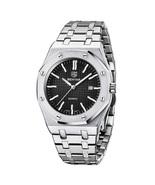 Benyar Men's Analog Quartz Wrist Watch BY-5156 (Silver & Black) - $48.00