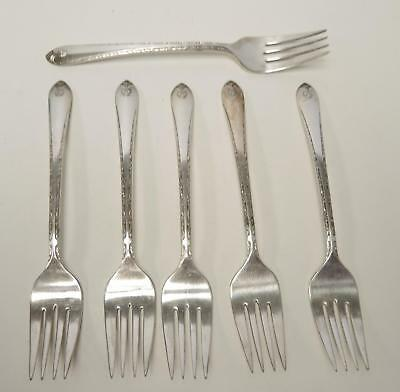 S Carlton silverplate Rogers Strawberry Berry Fork