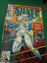 """Marvel Comic- SILVER SABLE #3 Aug.1992 """"Dual in the Sky""""   - £1.55 GBP"""