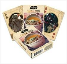 Star Wars The Mandalorian The Child Baby Yoda Theme Playing Cards -Aquarius - $9.99