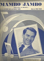 1950 Mambo Jambo ( Que Rico el Mambo ) Dave Barbour on cover Vintage she... - $7.95