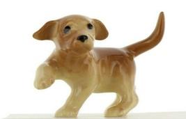 Yellow Lab Puppy Ceramic Dog Figurine - Miniatures by Hagen-Renaker, INC