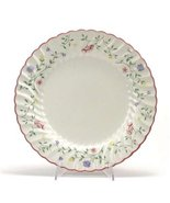 JOHNSON BROTHERS SUMMER CHINTZ SALAD  PLATES SET/9 FLORAL MADE IN ENGL... - $249.75