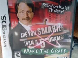 Nintendo DS Are You Smarter Than A 5th Grader? Make The Grade  image 1