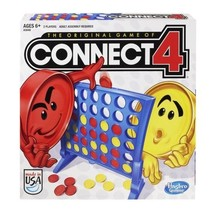 Hasbro Connect 4 Game, Classic Disc-dropping Fun, Grid w/Legs & 42 Color... - $23.16