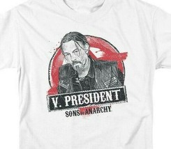 """Sons of Anarchy """"V. President"""" Television Crime Series graphic t-shirt SOA117 image 2"""